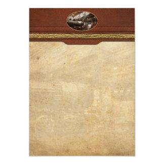 Locomotive - Locomotive repair shop Card