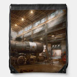 Locomotive - Locomotive repair shop Backpacks