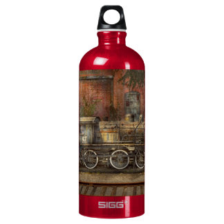 Locomotive - Our old family business Aluminum Water Bottle