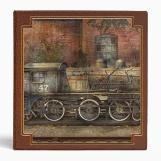 Locomotive - Our old family business 3 Ring Binder