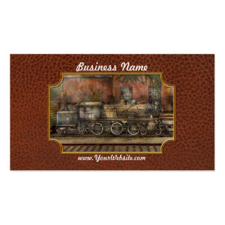 Locomotive - Our old family business Business Card Templates