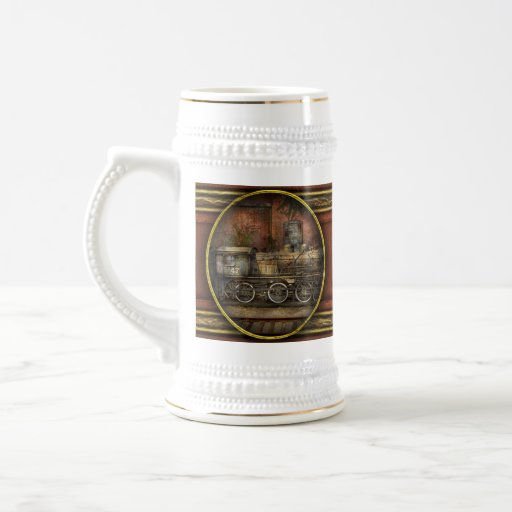 Locomotive - Our old family business 18 Oz Beer Stein