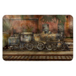 Locomotive - Our old family business Rectangular Magnets