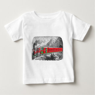 locomotive-pictures-2Modern (1871) Train from New Baby T-Shirt