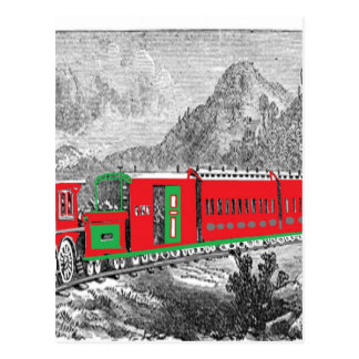 locomotive-pictures-2Modern (1871) Train from New Post Card