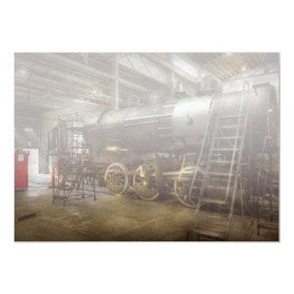 Locomotive - Repairing history Card