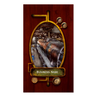 Locomotive - Routine maintenance Business Card