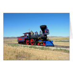 Locomotive Steam Engine Train Photo Greeting Cards