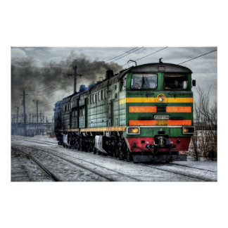 locomotive steam train photography poster close up