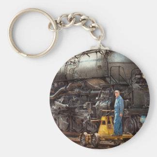 Locomotive - The gandy dancer Basic Round Button Keychain
