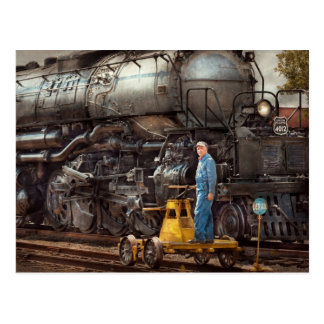 Locomotive - The gandy dancer Postcard