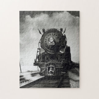 Locomotive to steam jigsaw puzzle