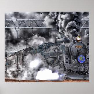 Locomotive / Train Photo Poster