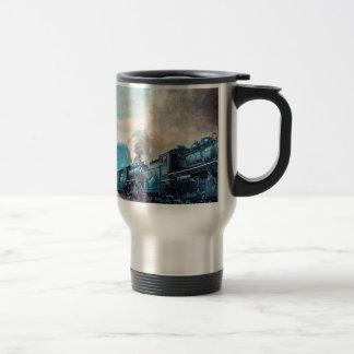 Locomotive Train Travel Mug