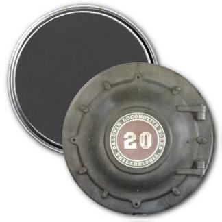Locomotive Works 3 Inch Round Magnet