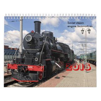 Locomotives Calendar
