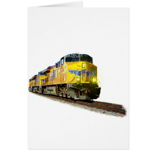 Locomotives Card