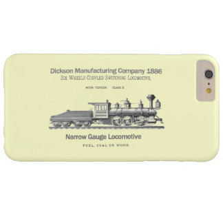 Locomotora 1886 de la transferencia de Dickson Funda Para iPhone 6 Plus Barely There