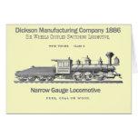 Locomotora 1886 de la transferencia de Dickson Felicitacion