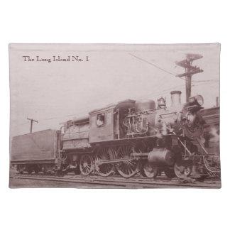 Locomotora 1900 de Baldwin Placemat Manteles Individuales
