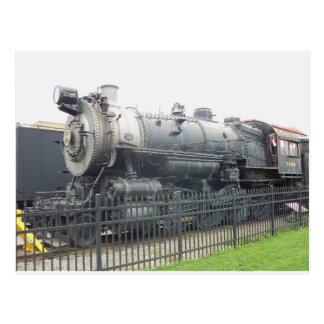 Locomotora 1 de Strasburg Tarjetas Postales