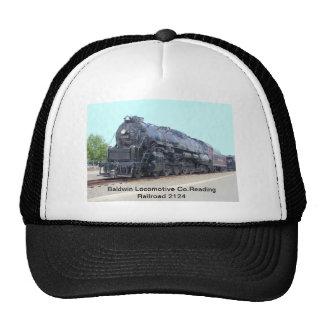 Locomotora 2124 del ferrocarril de la lectura de B Gorra