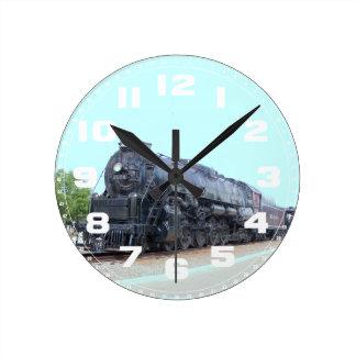 Locomotora 2124 del ferrocarril de la lectura de B Relojes De Pared