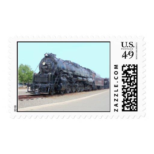 Locomotora 2124 del ferrocarril de la lectura de franqueo