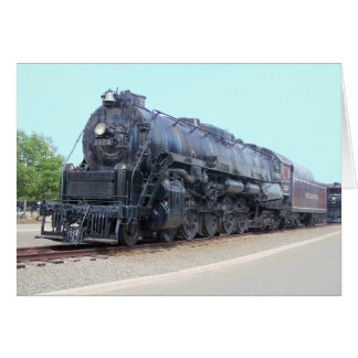 Locomotora 2124 del ferrocarril de la lectura de tarjeta pequeña