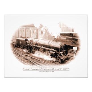 Locomotora de la carga de la clase 9F Fotografía