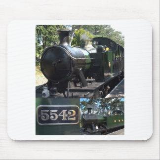 Locomotora de vapor 5542 alfombrillas de raton