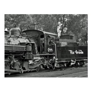 Locomotora de vapor Baldwin Cumbres y Toltec Postales