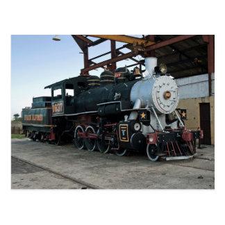 Locomotora de vapor, Cuba Postal