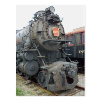 Locomotora de vapor de Strasburg 1 Tarjeta Postal
