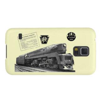 Locomotora de vapor del T-1 del ferrocarril de Funda De Galaxy S5