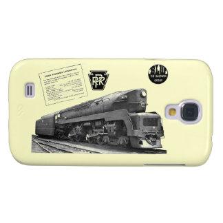 Locomotora de vapor del T-1 del ferrocarril de Funda Para Galaxy S4