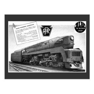 Locomotora de vapor del T-1 del ferrocarril de Postales