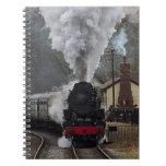 Locomotora de vapor note book