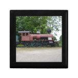 Locomotora de vapor vieja cajas de regalo