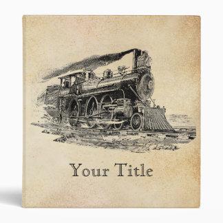 Locomotora de vapor vieja