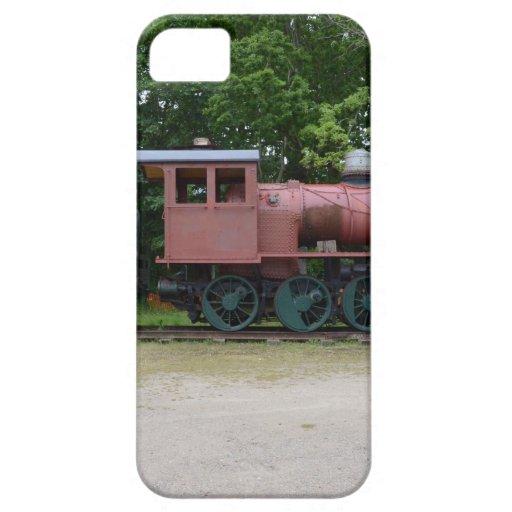 Locomotora de vapor vieja iPhone 5 Case-Mate protector