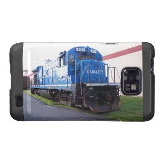 Locomotora del este #3153 del ferrocarril de Penn Samsung Galaxy S2 Carcasa