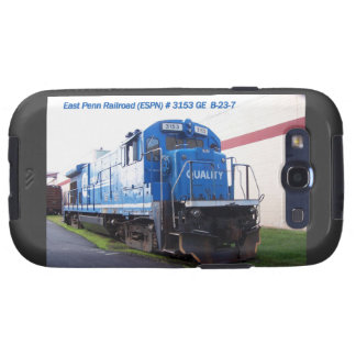 Locomotora del este #3153 del ferrocarril de Penn Samsung Galaxy SIII Funda