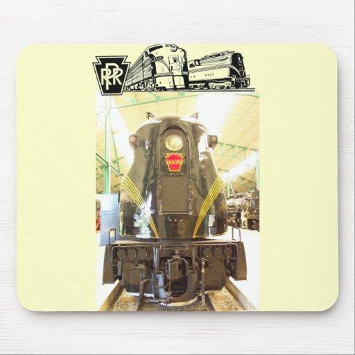 Locomotora del ferrocarril GG-1 de Pennsylvania #  Tapete De Raton
