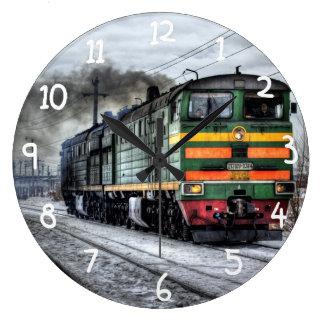 Locomotora del tren de Rusia Relojes