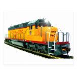 Locomotora diesel del modelo U.P. Postal