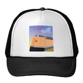Locomotora diesel gorras de camionero