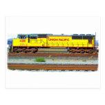 Locomotora diesel postal