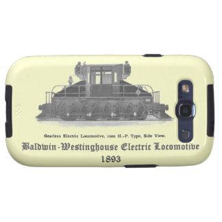 Locomotora eléctrica 1893 de Baldwin Westinghouse Galaxy S3 Carcasas