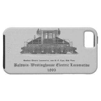 Locomotora eléctrica 1893 de Baldwin Westinghouse iPhone 5 Funda